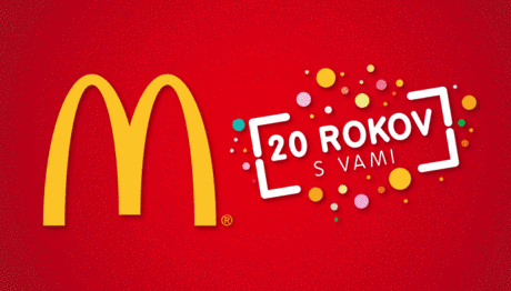 Hrajte o párty v McDonalds v hodnote 100 €