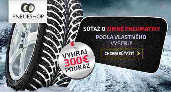 Prezujte svojho tátoša s pneueshop.sk!