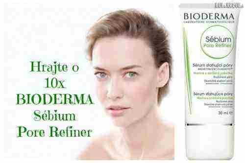 Súťažíme o 10x BIODERMA Sébium Pore Refiner