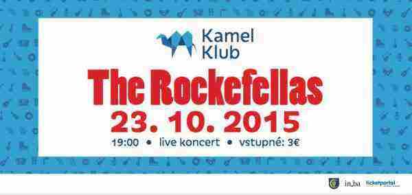 Súťaž o 2 vstupenky na THE ROCKEFELLAS