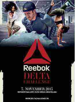 Súťaž o 5 lístkov na Reebok Delta Challenge