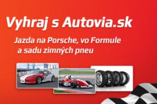 Súťaž o jazdu na Porsche, zimné pneu a ďalšie ceny