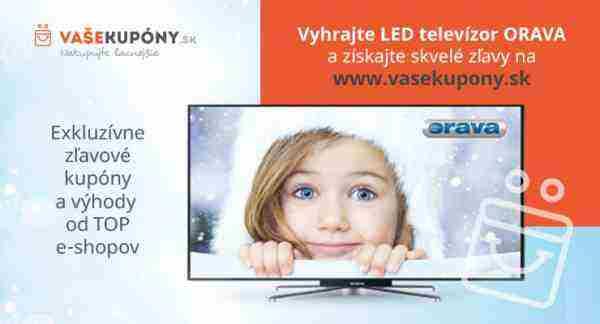 Súťaž o kvalitný LED televízor Orava!
