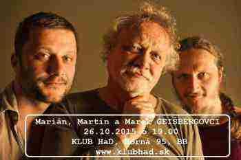 Súťaž o vstupenky Trio Geišbergovcov