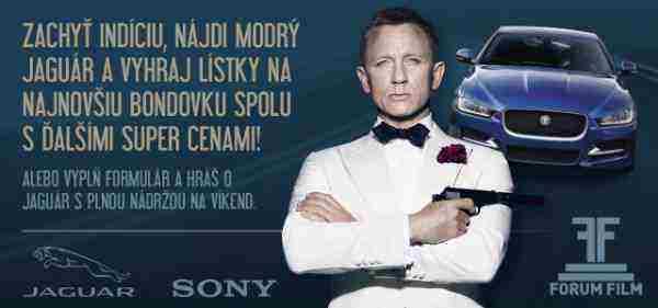 Súťaž s najnovšou Bondovkou SPECTRE!