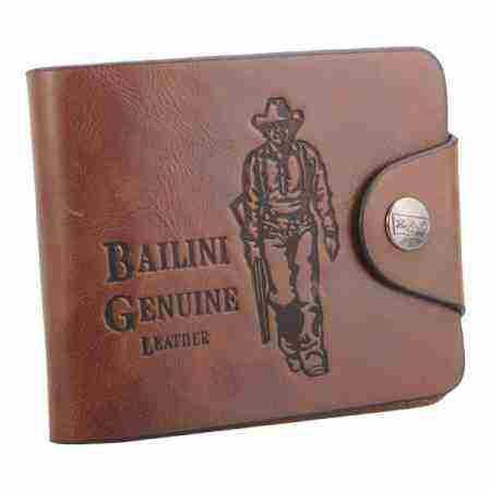 Soutěž o pánskou koženou peněženku Bailini