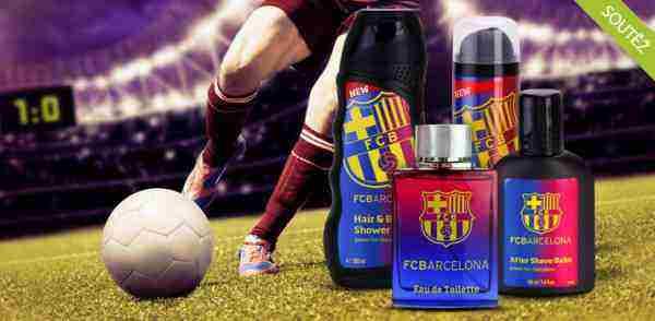 Soutěž o pánskou kosmetiku FC Barcelona