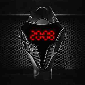 Soutěž o stylové pánské LED hodinky v černé barvě
