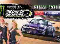 Vyhraj 2 lístky na finále King of drift Europe - SlovakiaRing