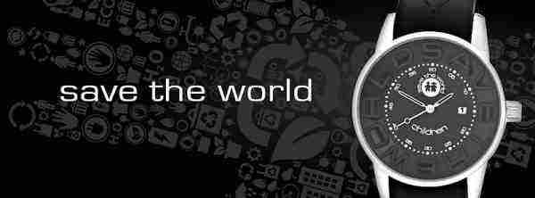 Vyhrajte hodinky Save The World