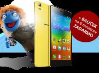 Vyhrajte telefón Lenovo A7000 + aktivovaný balíček