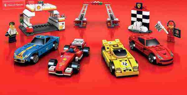 Vyhrajte zberateľskú edíciu LEGO Ferrari autíčok od Shell