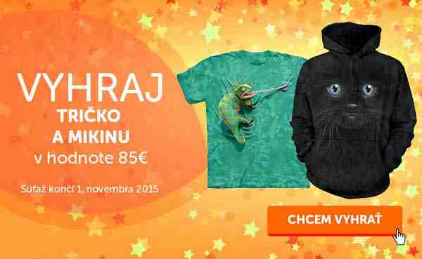 Hraj o tričko a mikinu v hodnote 85€
