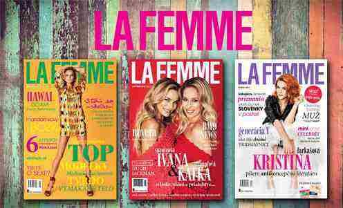 Súťaž o obľúbený mesačník La Femme