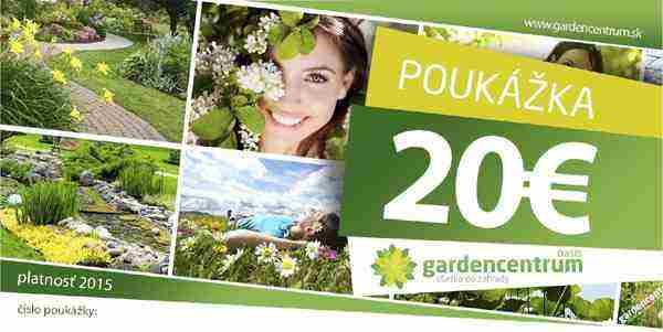 nakupny poukaz 20€ oasis