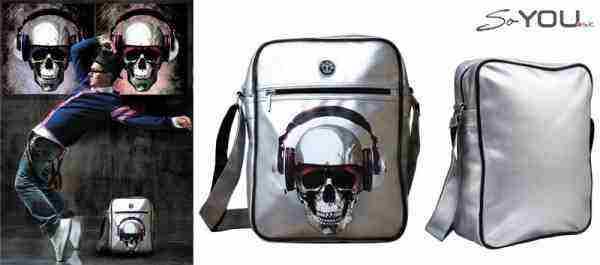 Vyhraj trendy tašku Teo Jasmin Skull music!