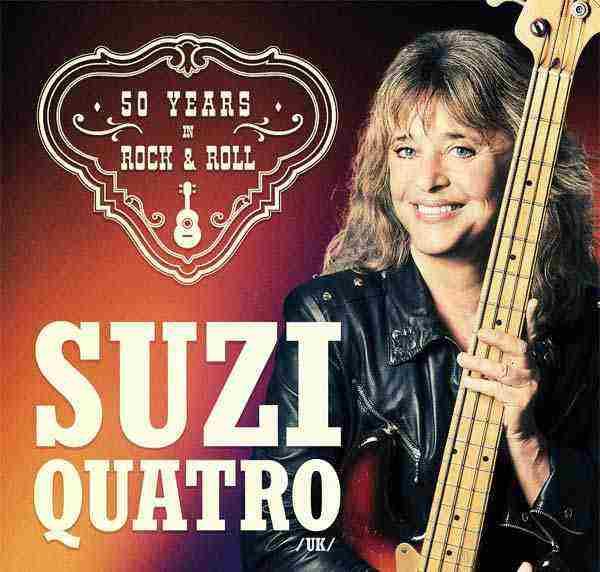 Súťaž o 2×2 vstupenky na koncert Suzi Quatro