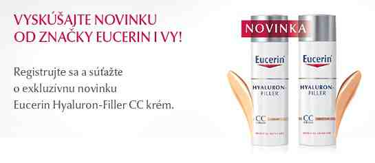 Hrajte o Eucerin Hyaluron-Filler CC krém