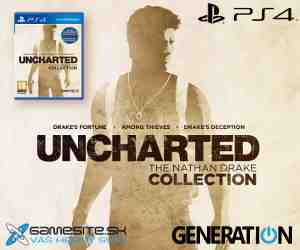 Súťaž o 3x PS4 Uncharted Collection