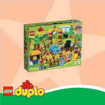 Súťaž o LEGO DUPLO Lesopark