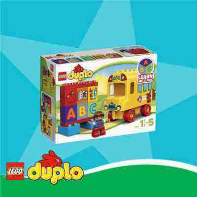 Súťaž o LEGO DUPLO Môj prvý autobus