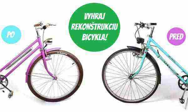 Súťaž o rekonštrukciu bicykla