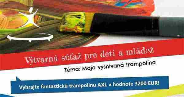 Súťaž o tramoplínu AXL