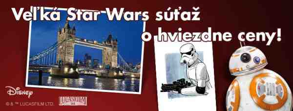 Veľká STAR WARS súťaž