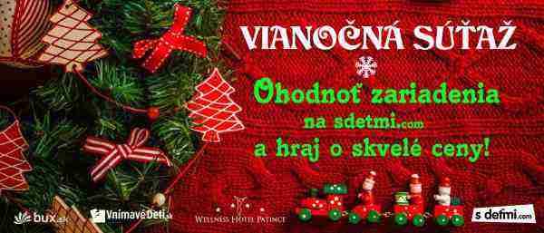 Vianočná súťaž sdetmi.com 2015
