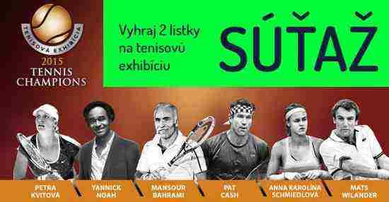 Vyhraj lístky na tenisovú exhibíciu