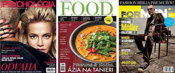 Ročné predplatné časopisov - až 7 titulov + súťaž