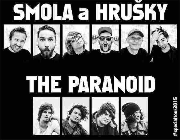Smola a Hrušky a The Paranoid SPECIAL TOUR 2015