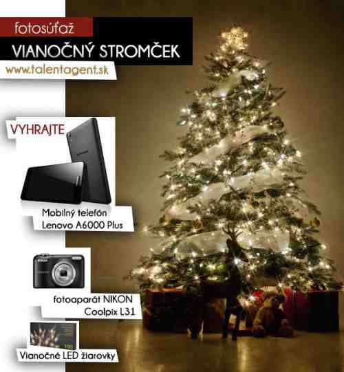 Hľadáme najkrajší a najoriginálnejší Vianočný stromček