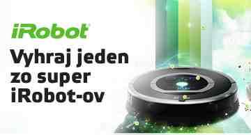 Odpovedz správne na súťažnú otázku a vyhraj jeden zo super iRobotov!