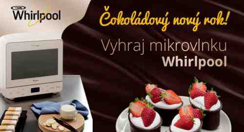 Súťaž o 3 mikrovlnné rúry Chocolate od Whirlpool