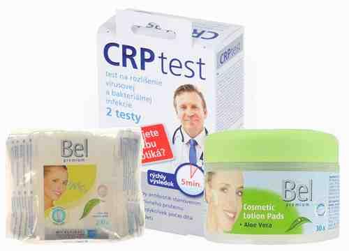 Súťažte o balíček s CRP testom a hygienckými potrebami Bel a Hartman Ria
