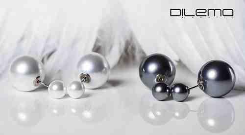 Súťažte o modré perlové nášnice Dilema
