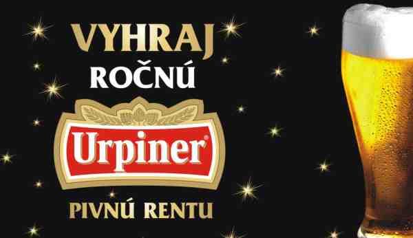 Vyhraj 12 kartónov piva URPINER