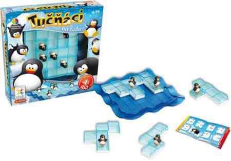 Vyhrajte 2x logickú hru Tučniaky na ľade