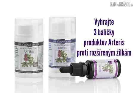 Vyhrajte 3 balíčky produktov Arteris od Nobilis Tilia proti rozšíreným žilkám