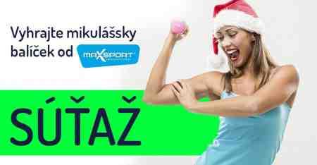Vyhrajte mikulášsky balíček od Maxsport