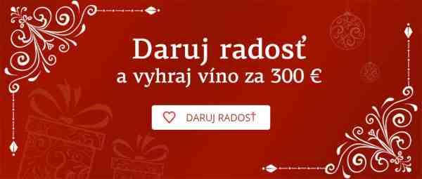 Vyhrajte vína v hodnote 300 eur!