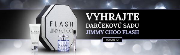 Súťaž o dámsky set Jimmy Choo Flash v hodnote 50 €