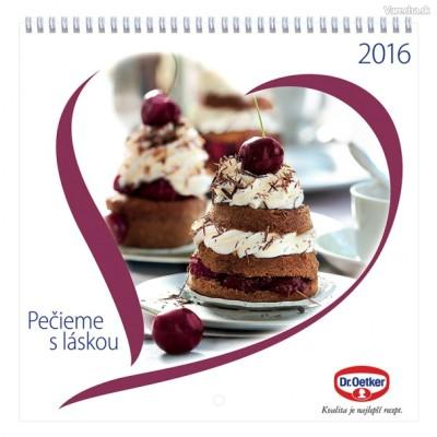 Súťaž o nový kalendár Pečieme s láskou 2016