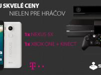 Vyhraj Nexus 5X alebo konzolu Xbox One