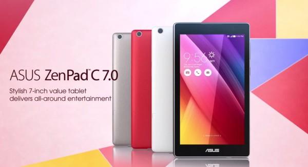 Vyhraj tablet ASUS ZenPad C 7.0 v hodnote 119 €