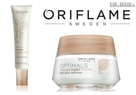 Vyhrajte 3 sady Optimals od Oriflame proti pigmentovým škvrnám