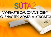 Vyhrajte ceny od Adata a Kingston