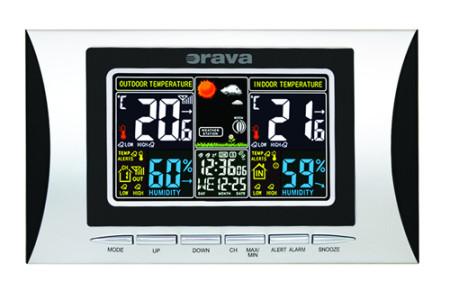 Vyhrajte digitálnu meteostanicu Orava MC-102