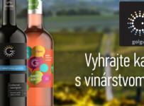 Vyhrajte kartón vína s vinárstvom roka Golguz
